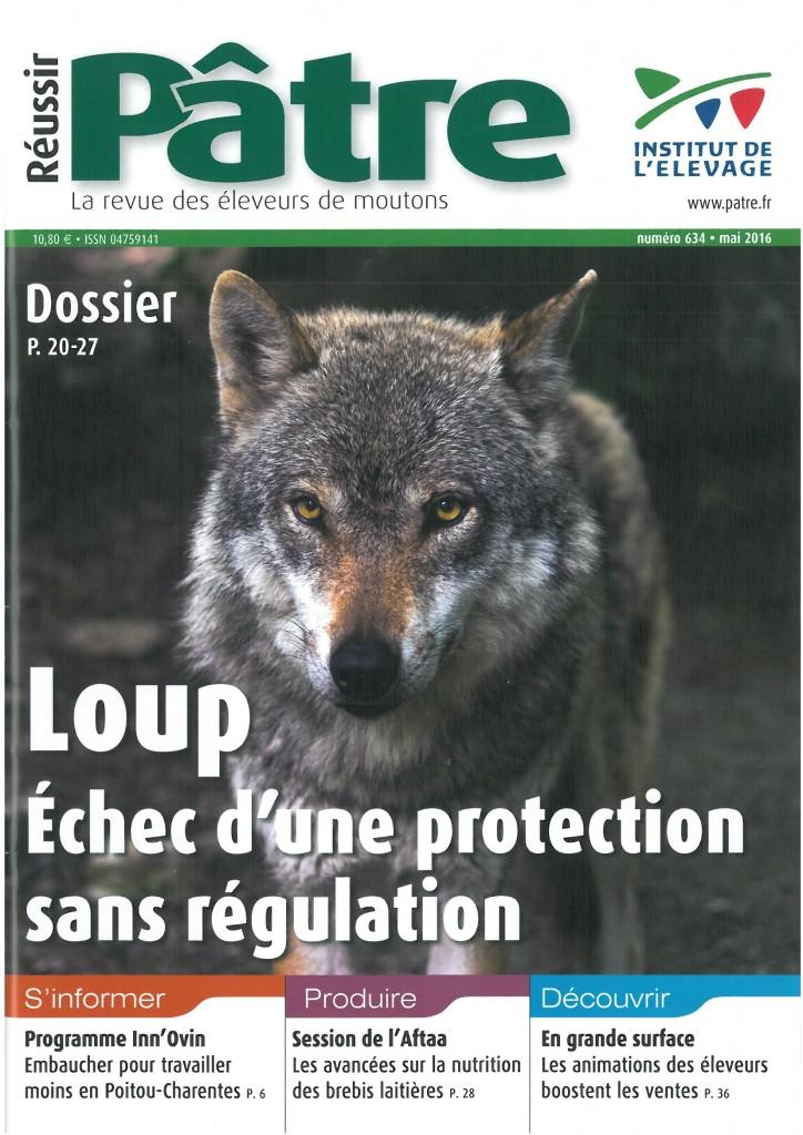 Loup: l'échec d'une protection sans régulation
