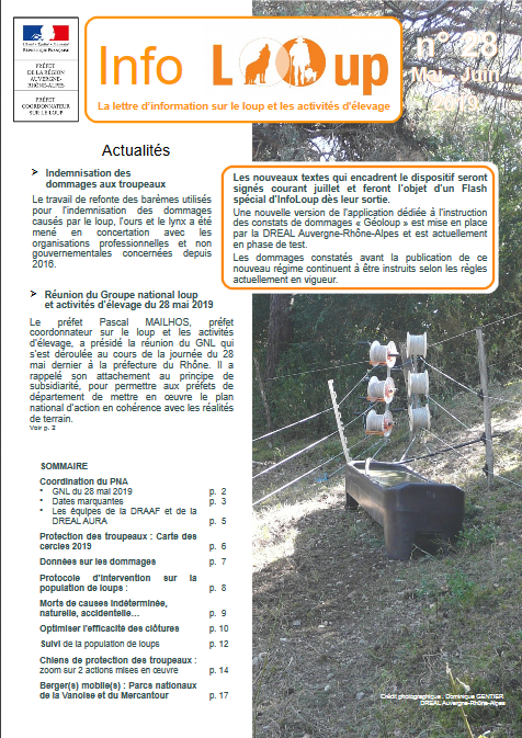 Info Loup n°28
