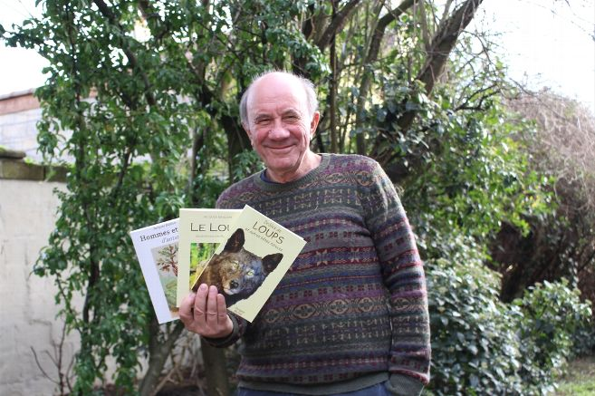 À Olivet, Jacques Baillon se passionne pour les loups et leur consacre un livre – Olivet (45160)