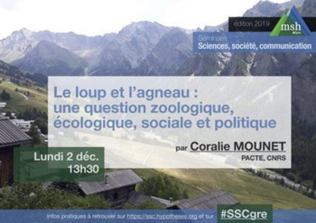 Les loups et les agneaux, un problème zoologique, écologique, social, politique   ECHOSCIENCES – Grenoble