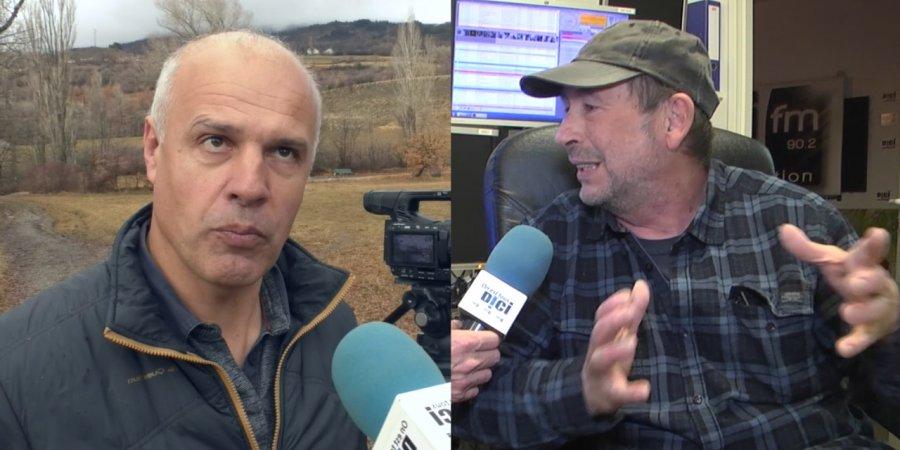 Loup : Bruno Lecomte a mené une contre-enquête sur le film de Jean-Michel Bertrand «Marche avec les loups» | D!CI TV & Radio