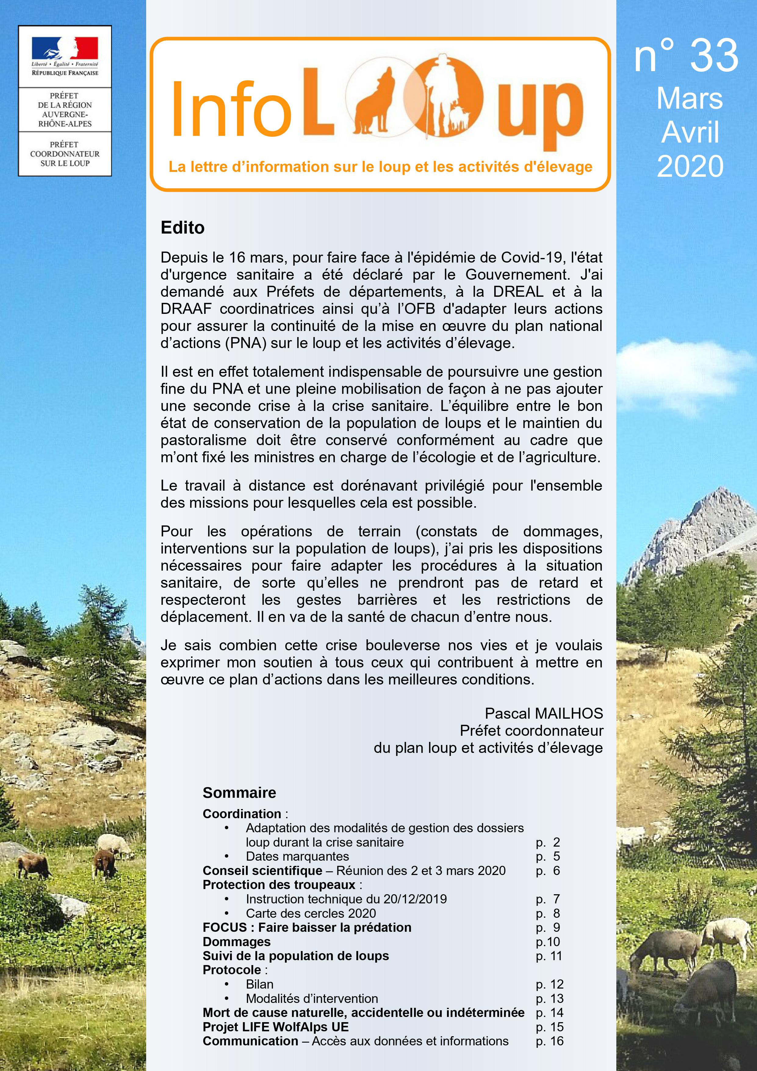 Info Loup n°33